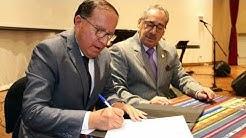 IAEN y CCE firman convenio de Cooperación Interinstitucional