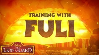 Training with Fuli | Be Inspired | The Lion Guard | Disney Junior
