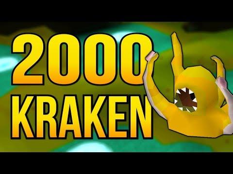 Loot From 2000 Kraken | Old School Runescape