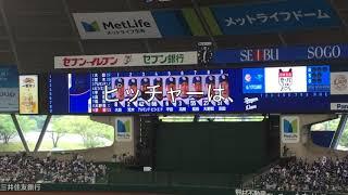 2018.6.16 西武vs中日 交流戦最終日。中日先発松坂投手が試合前の投球...