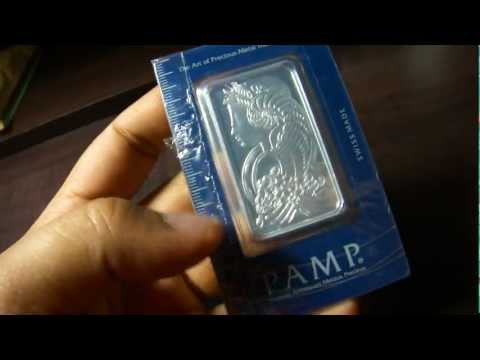 Pamp Suisse Lady Fortuna Silver Bar