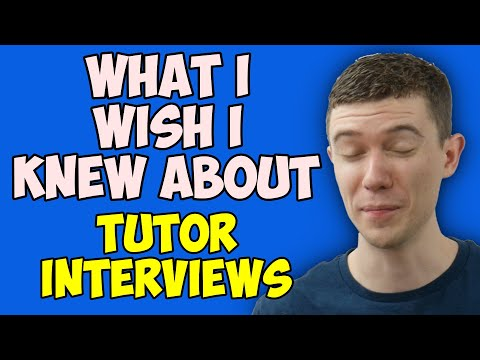 What I Wish I Knew Before Interviewing To Be A Math Tutor (Mathematics Tutor)
