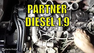 Cambiar Bujías Peugeot Partner Diesel 1.9 (motor DW8)