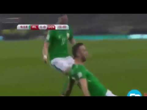 Rep Ireland 1-5 Denmark ♧ All goals & Highlights ♧ WorldCup Qualifiers 14 11 2017