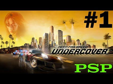 NFS: Undercover (PSP) ~ Sunset Hills (1/2) - YouTube
