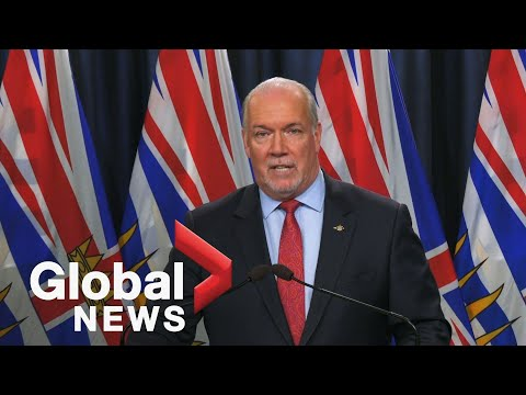 Coronavirus: BC Premier Talks Increased Enforcement Of COVID-19 Rules | FULL