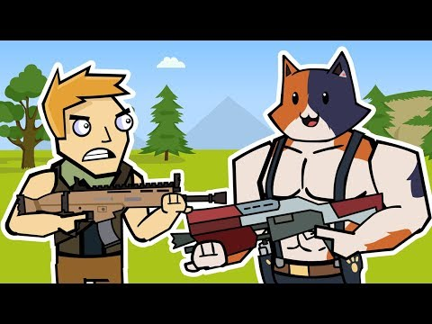 Meowscles & The Box | Fortnite Animation (The Squad)