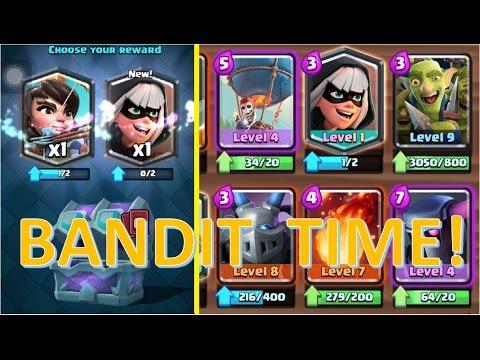 Clash Royale Bandit Deck