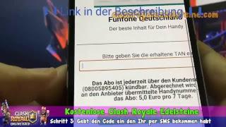 Clash Royale Hack Deutsch -  Kostenlose Edelsteine Für Alle