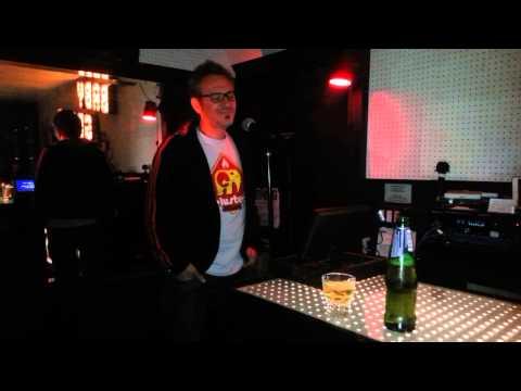 Hache karaoke en el Soho, New York