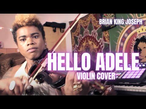 HELLO - ADELE (HIP HOP VIOLIN COVER) - Brian King Joseph