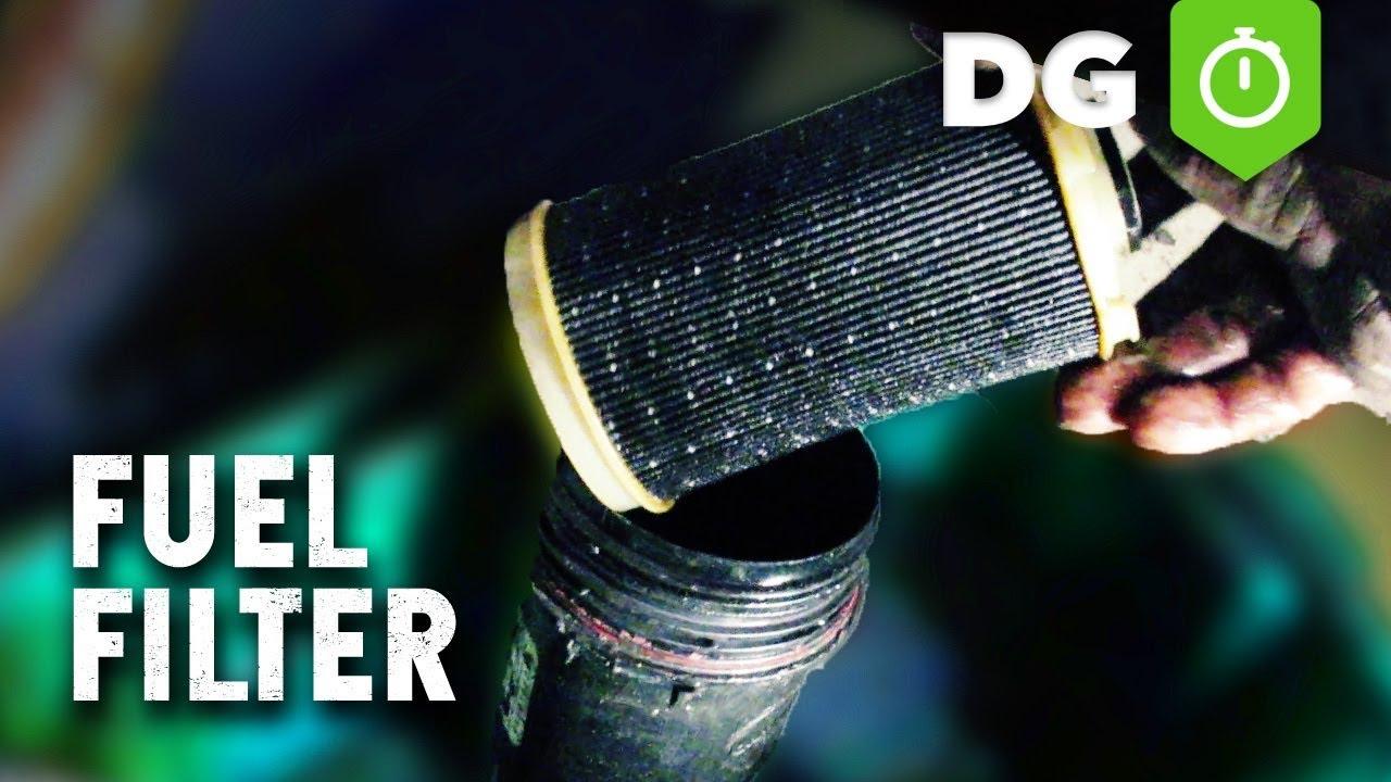 easy way to change a 6 7 cummins 24v fuel filter [ 1280 x 720 Pixel ]