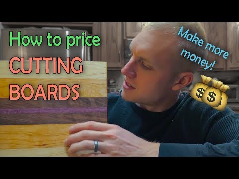 How We Priced a Cutting Board (Real Numbers) | Woodworking Business
