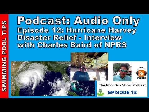 Hurricane Harvey Disaster Relief, Interview w/Charles Baird of NPRS - 동영상