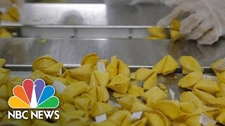 The Evolution Of Fortune Cookie Writing | NBC News