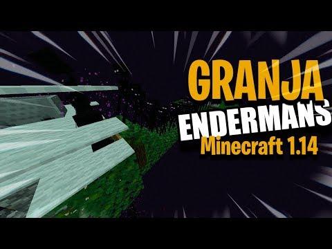 Tutorial Granja De Endermans   Minecraft 1.14