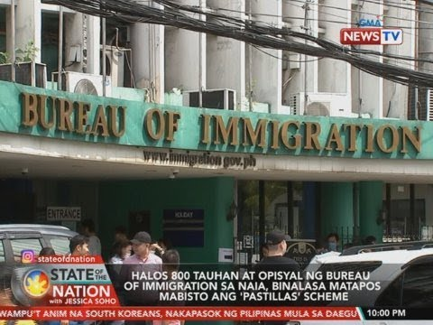SONA: Halos 800 Tauhan At Opisyal Ng Bureau Of Immigration Sa NAIA...