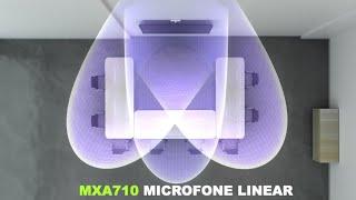 Conheça os novos Microfones MXA Linear Arrays