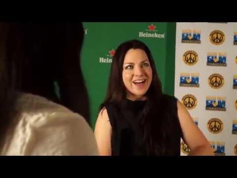 Amy Lee premier of the indie film BLIND (Woodstock Film Festival)