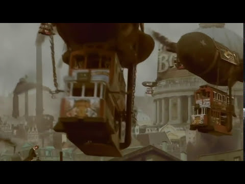 '1884'  Terry Gilliam presents '1884 Yesterdays Future'... Animation test..