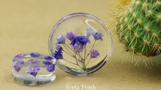 FAIRY PENDANTS MADE FROM DRIED PLANTS AND EPOXY RESIN COLORFUL EPOXY RESIN DIY IDEAS YOU WILL LOVE