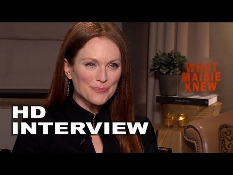 What Maisie Knew: Julianne Moore Official Interview