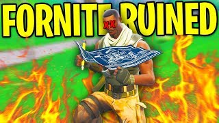 FORTNITE IS RUINED...