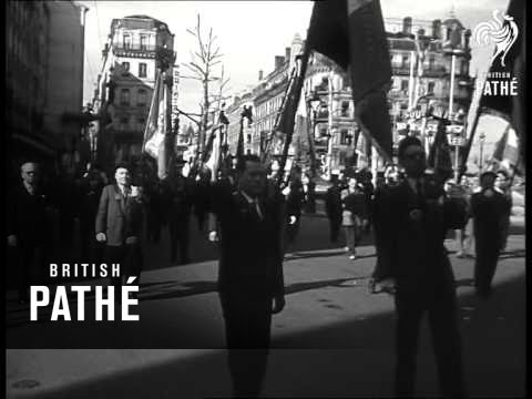 National Funeral For Edouard Herriot (1957)