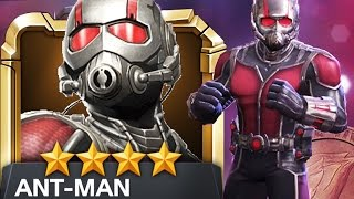 MARVEL: Contest of Champions - 4-Star ANT-MAN Rank/Level Up!