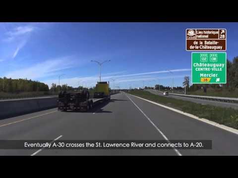 2016 Season - E11 - Autoroute 30 (A-30) Montreal Quebec