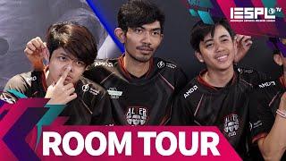 Room Tour: Kamar Tidur Tim Mobile Legends Bikin Geleng-Geleng! - Grebek Gaming House Alter Ego