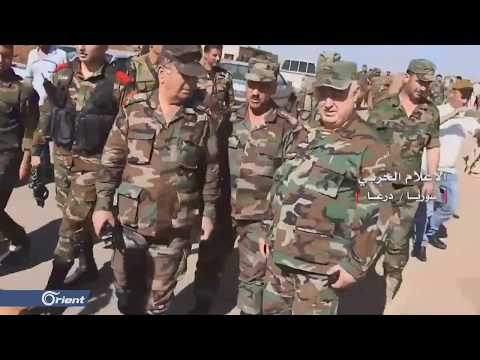 مظاهرات مطالبة بإسقاط النظام والإفراج عن المعتقلين في مخيم درعا  - 20:54-2019 / 10 / 16