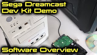 Sega Dreamcast Dev Kit Demo - Software Overview