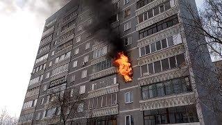 """""""Дымная"""" лампа выгнала из подъезда 25 человек"""