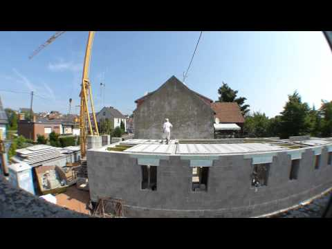 Decken legen - Installing Lost Form For Concrete Ceiling