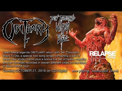 "OBITUARY - ""Intoxicated"" (Live - Revolution Center - Boise) (Official Track)"