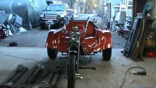 vw trike up and running