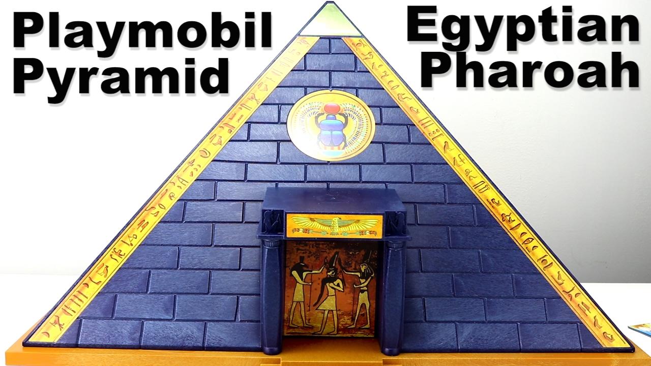 playmobil pharaoh 39 s pyramid playset 5386 egyptian pyramid traps treasure playmobil pyramide. Black Bedroom Furniture Sets. Home Design Ideas