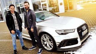 Ein Engländer  im 735PS Audi RS6 auf der Autobahn!  | Daniel Abt