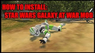 How to Install Men of War Star Wars Galaxy at War Mod! (OUTDATED)