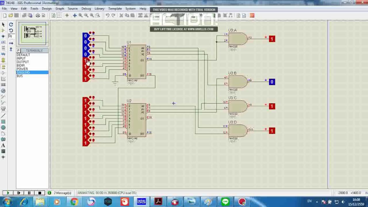 hight resolution of 74148 encoder 16 4