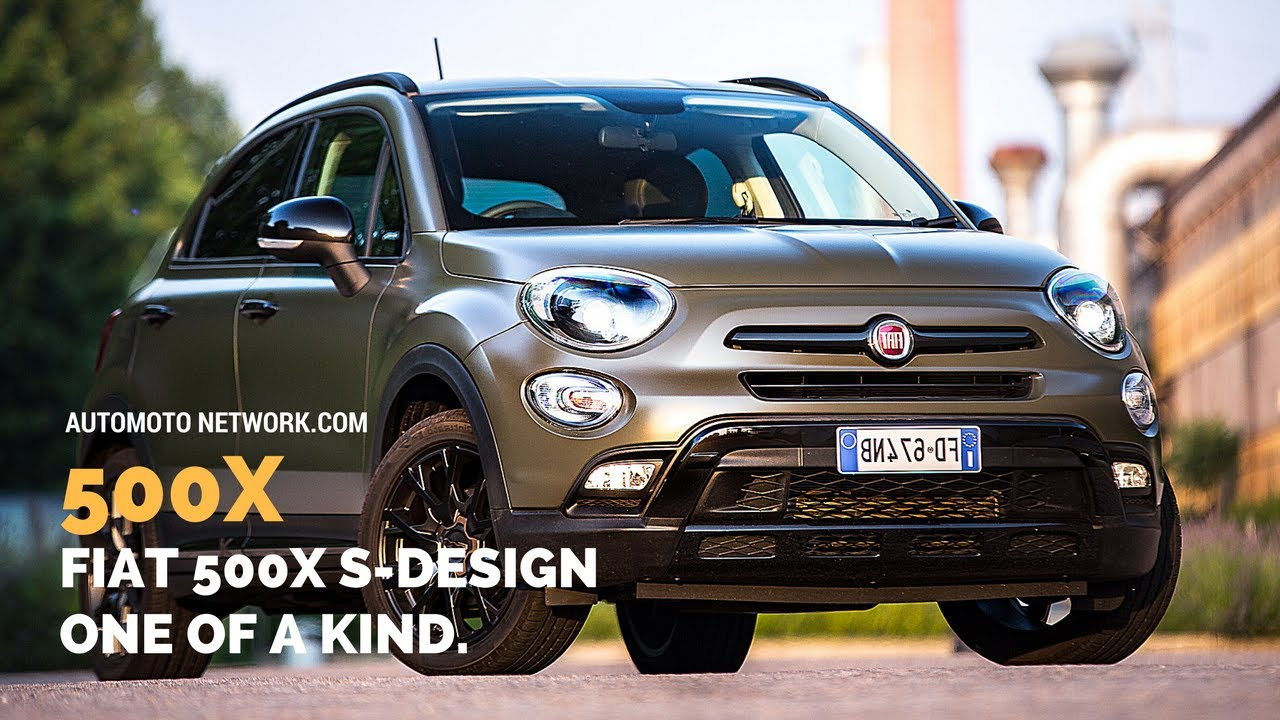 2017 fiat 500x s design specials youtube. Black Bedroom Furniture Sets. Home Design Ideas