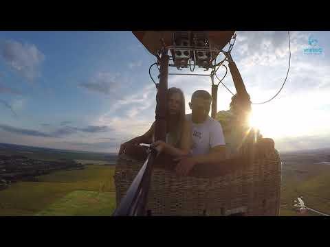 Полет на воздушном шаре в Переяслав-Хмельницком