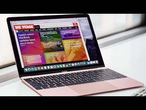 Apple's faster, pinker new MacBook