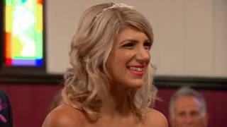 Bella and Michael meet at the altar: Married at First Sight Australia