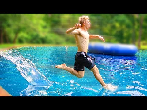 RUNNING ON WATER!!