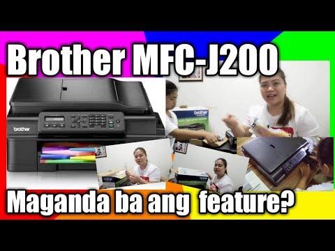 Unboxing BROTHER MFC-J200 PRINTER Ink Benefit