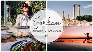 KOCHKURS in AMMAN & Floaten im TOTEN MEER I JORDANIEN VLOG #1