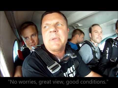 Skydive video, Helsinki Finland