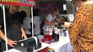 VLOG| Thai Culture and Food Festival ในเมลเบิร์น + เยี่ยมซุ้มเพื่อน Ped Yang Limited